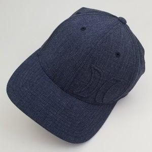 New Boys Hurley Denim Flexfit Baseball Hat S-M